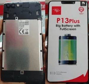 itel P13 Plus Flash FIle