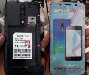 Smile Z15 BA Flash File