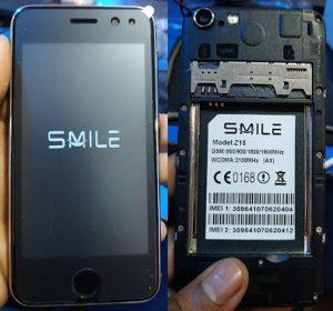 Smile Z15 AX Flash File