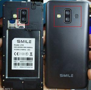 Smile Z15 EX Flash File