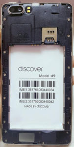 Discover D9 Flash File Firmware | SP7731 6.0 Hang Logo Lcd Fix Stock Rom