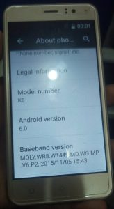 Mione K8 Flash File | Mione K8 Firmware MT6580 6 0 Update Stock Rom