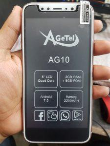 Agetel AG10 Flash File Firmware | MT6580 7.0 Hang Logo Stock Rom Download