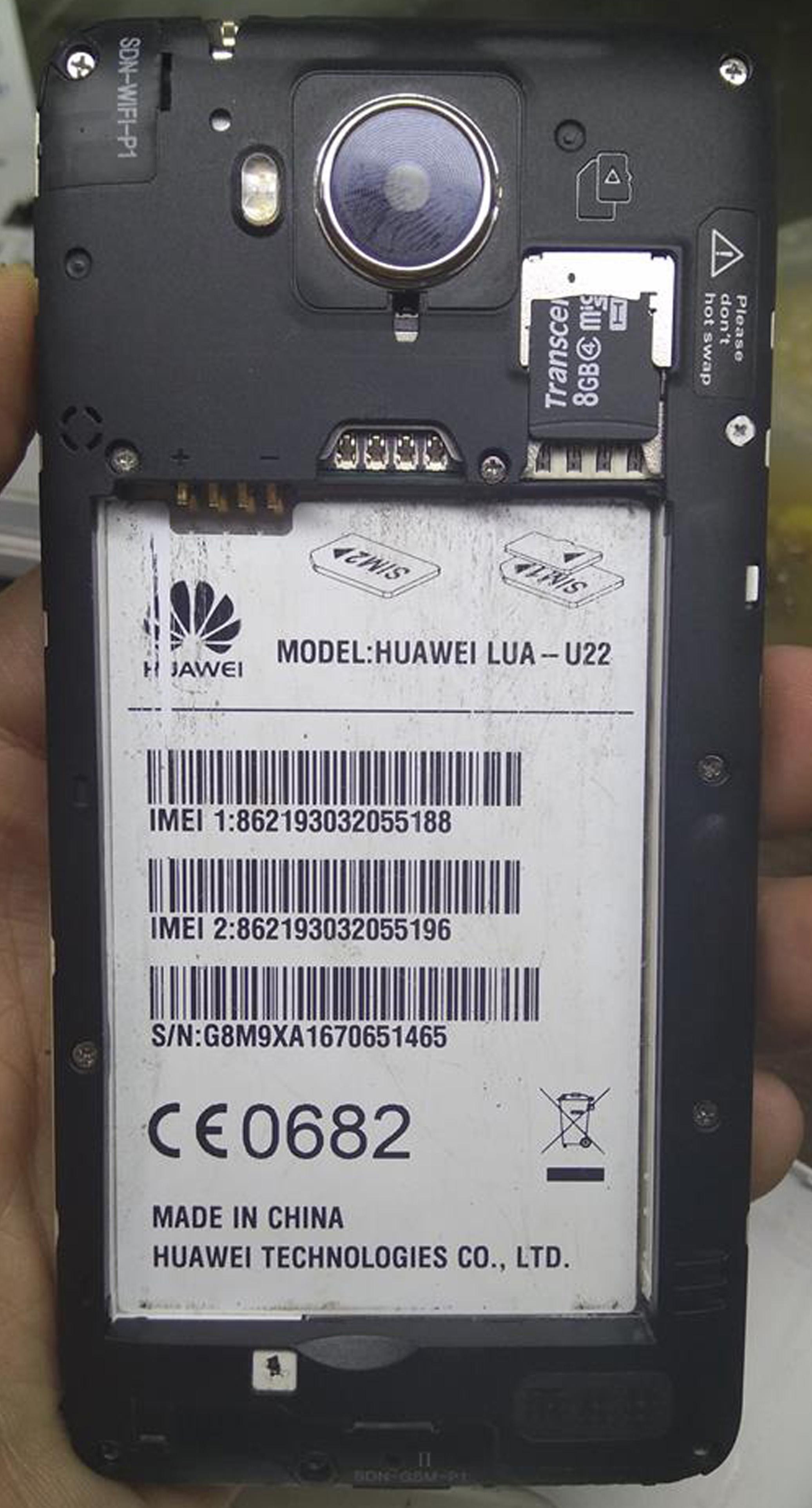 Huawei Lua U22 Sd Card Update
