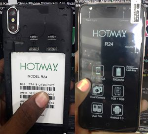 Hotmax R24 Flash File 3rd Version MT6580 Firmware Stock Rom