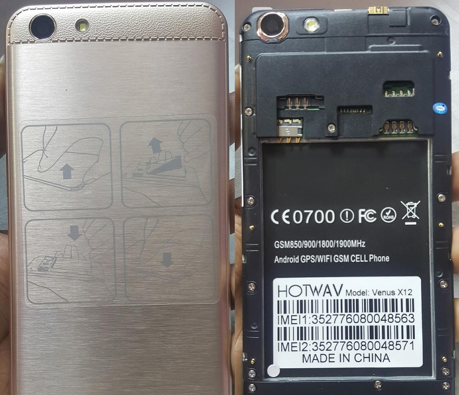 Hotwav Venus X12 Flash File | Sp7731 Blu Lcd Fix Firmware