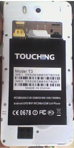 Touching T3 Flash File
