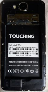 Touching T6 Flash File