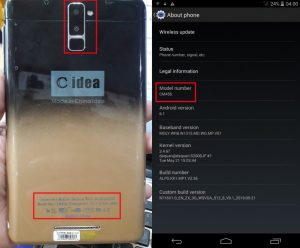 C idea CM456 Flash File