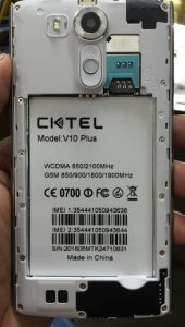 Cktel V10 Plus Flash File