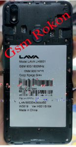 Lava Iris 54 LH9931 Frp Bypass Solution Without Box Download 10MB File