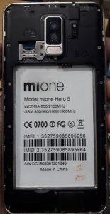 Mione Hero 5 Flash File Firmware All Version Download