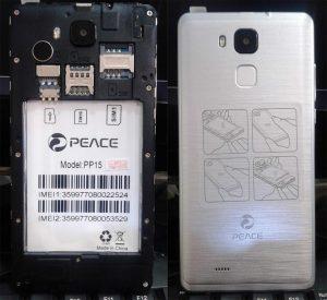 Peace PP15 Flash File