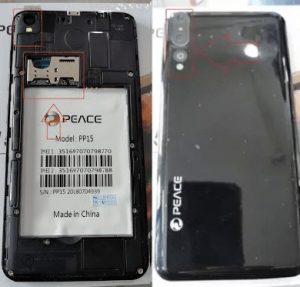 Peace PP15 Flash File Stock Firmware