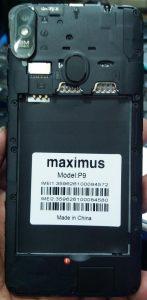 Maximus P9 Flash File