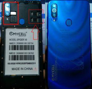 Mycell Spider V9 Flash File