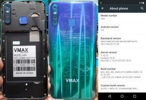 Vmax V50 Flash File