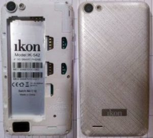 IKON IK-542 Flash File