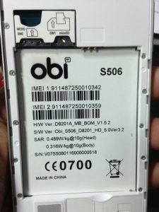 Obi S506 Flash File