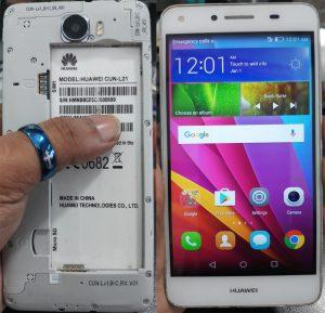 Huawei Y5ii Cun-L21 Flash File