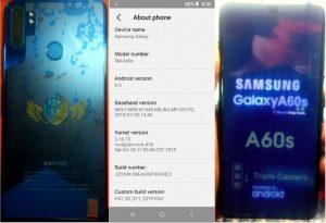 Samsung Clone A60s Flash File