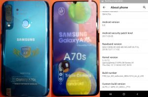 Samsung Clone A70s Flash FIle