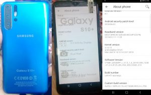 Samsung Clone S10+ Flash File