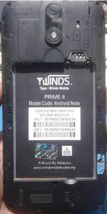 Winds Mobile Prime ii Flash File