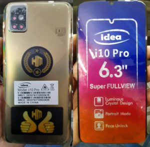 iDea i10 Pro Flash File