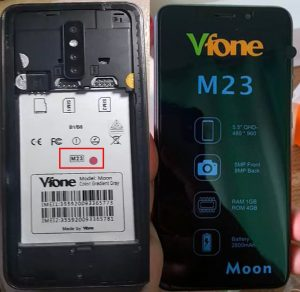 Vfone Moon M23 Flash File