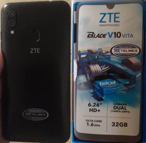 ZTE Blade V10 Vita Telmex Flash File