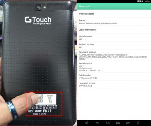 Gtouch G65 Tab Flash File