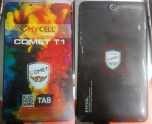 Mycell Comet T1 Tab Flash File