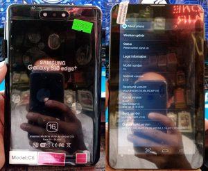 Samsung Galaxy S10 Edge+ Tab Flash File
