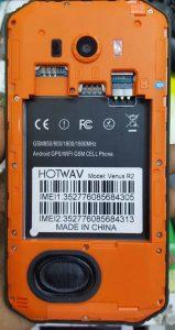 Hotwav Venus R2 Flash File