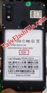 Hotwav Venus V30 Flash File