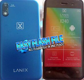 Lanix X240 Flash File