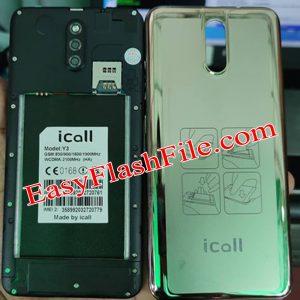 iCall Y3 Flash File
