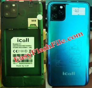 iCall i11 Flash File