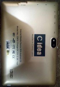 C iDea CM10 TAB Flash File