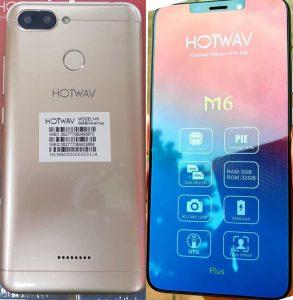 Hotwav M6 Flash File