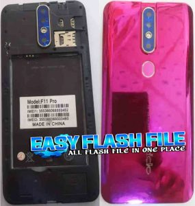 Oppo Clone F11 Pro Flash File