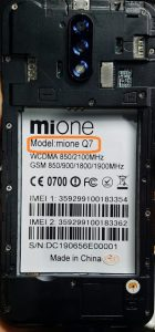Mione Q7 Flash File