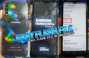 Samsung Clone A81'20 Flash File
