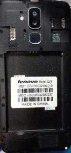 Lenovo Clone Q25 Flash File